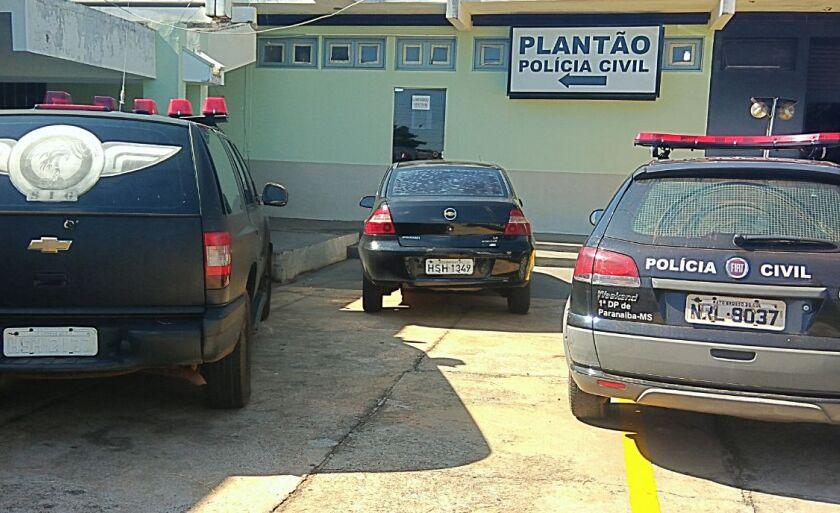A mulher foi encaminhada para Delegacia de Polícia Civil