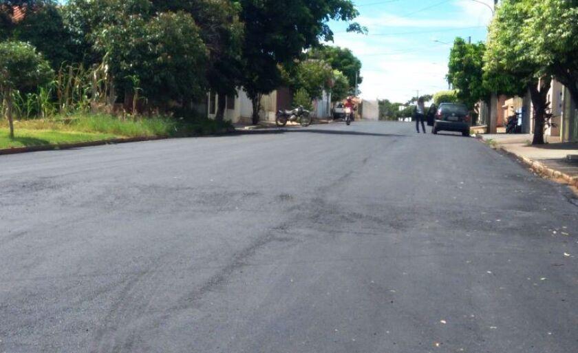 Para recuperar o contrato com a Sudeco, a prefeitura se comprometeu em refazer a medida do asfalto