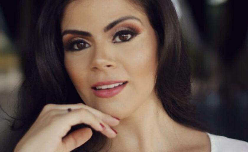 Daniela Freitas Castro Miziara, paranaibense, 28 anos, representa Mato Grosso do Sul no concurso Miss Brasil Plus Size 2018