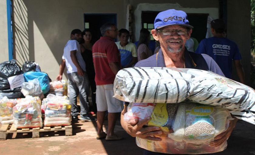 Doações continuam sendo recebidas na Cavalaria da Polícia Militar de Mato Grosso do Sul