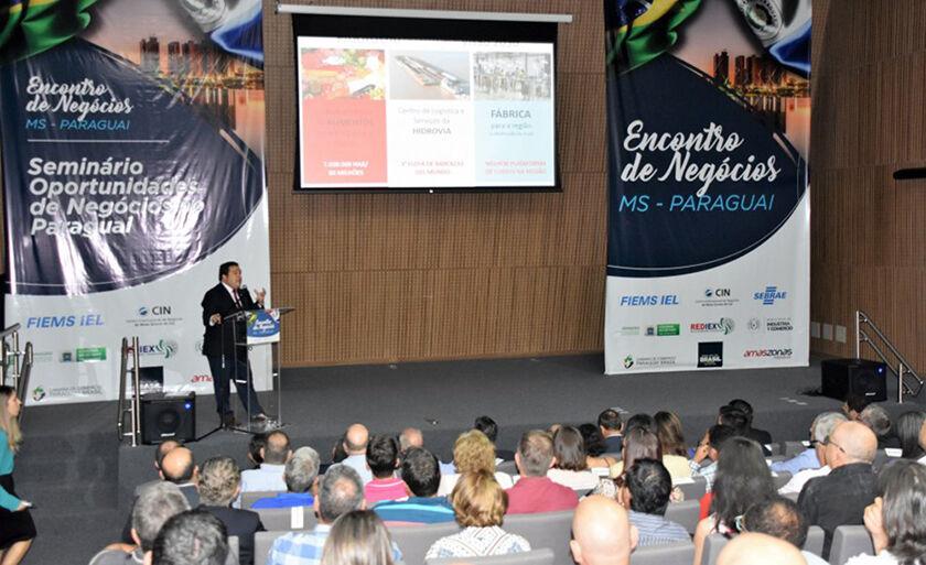 Delegação do Paraguai apresentou o cenário econômico e atrativo do país vizinho para empresários interessados em investir do outro lado da fronteira