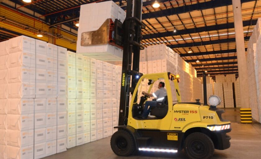 Porto vai desembaraçar documentos de mercadorias, como a celulose, principal produto de Três Lagoas