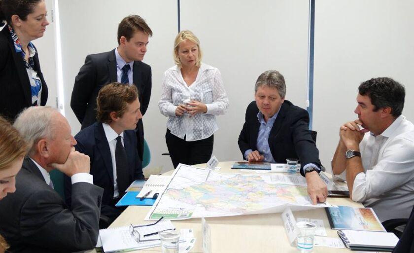 Diretores da empresa Russa estiveram em Três Lagoas e procuraram membros do governo, em Campo Grande, em janeiro