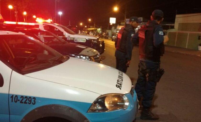 O casso ocorreu na rua Juscelino Kubitscheck de Oliveira no Centro