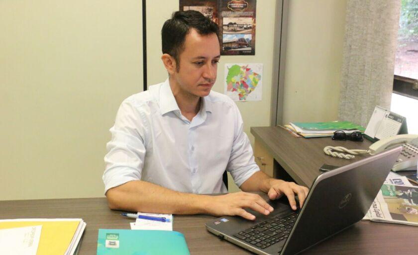 Fredson Freitas da Costa que agora ocupa cargo de direção e assessoria na Segov (Secretaria de Governo)