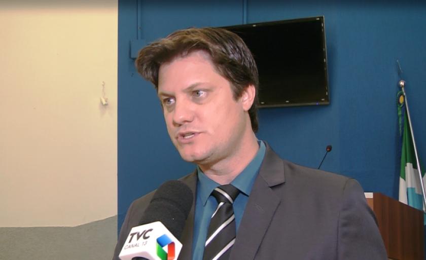 Presidente da Câmara, André  Bittencourt