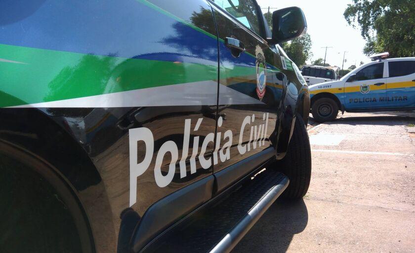 A Polícia Civil esteve no local