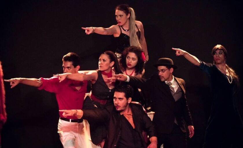 O espetáculo retrata várias características do cotidiano brasileior.