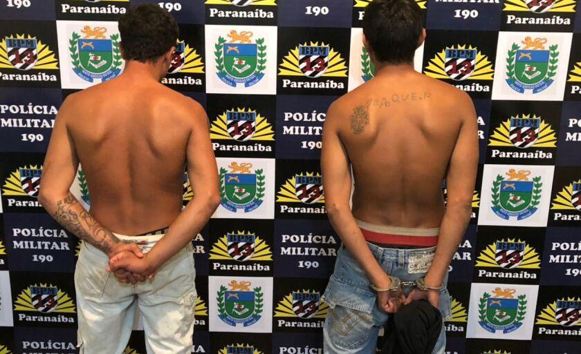 Os agressores foram presos em flagrante