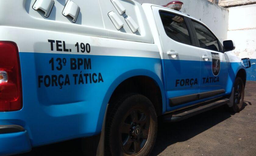 O furto ocorreu na rua Cândida Vitoria Lopes Rodrigues
