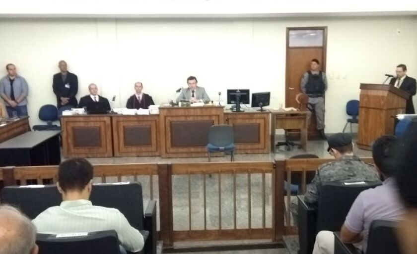 Júri foi presidido pelo juiz Rodrigo Pedrini Marcos