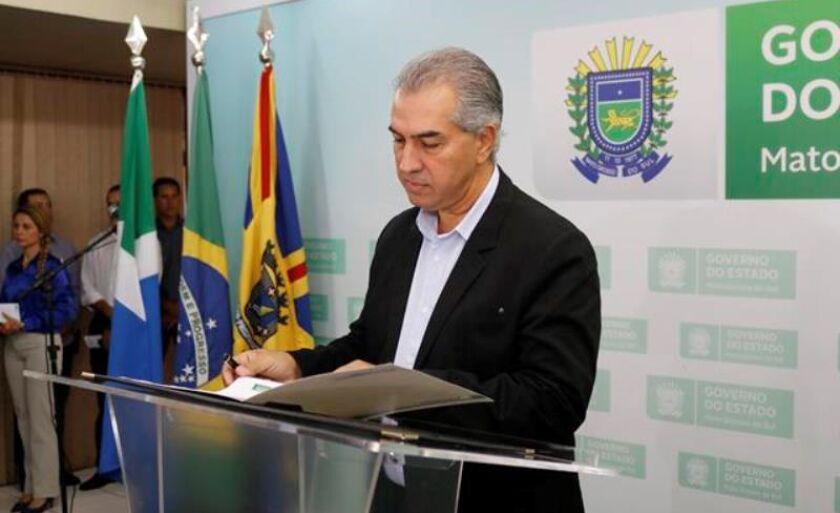 Reinaldo Azambuja não veio a Três Lagoas no primeiro quadrimestre