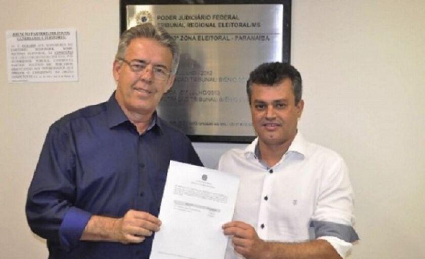 Prefeito Ronaldo Miziara e vice Cesinha Leal