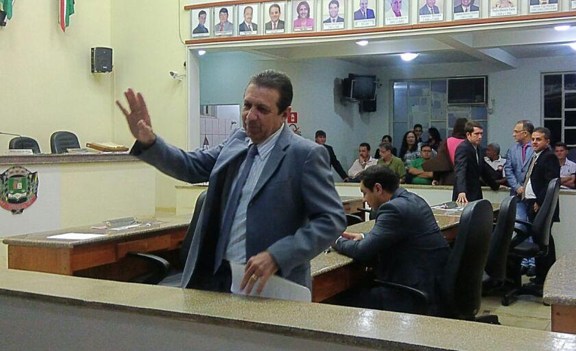 Nelo é o primeiro presidente na história do legislativo local a ser reeleito