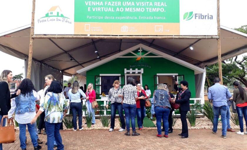 Projeto Nossa Casa tem Fibria já percorreu três regiões do Brasil e visita o munício pela segunda vez