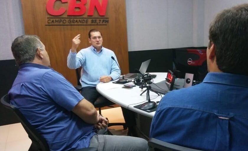 CBN Agro recebeu o diretor do Setlog-MS Dorival Oliveira, o presidente do MNP Rafael Gratão e o presidente da Aprosoja-MS Juliano Schmaedecke