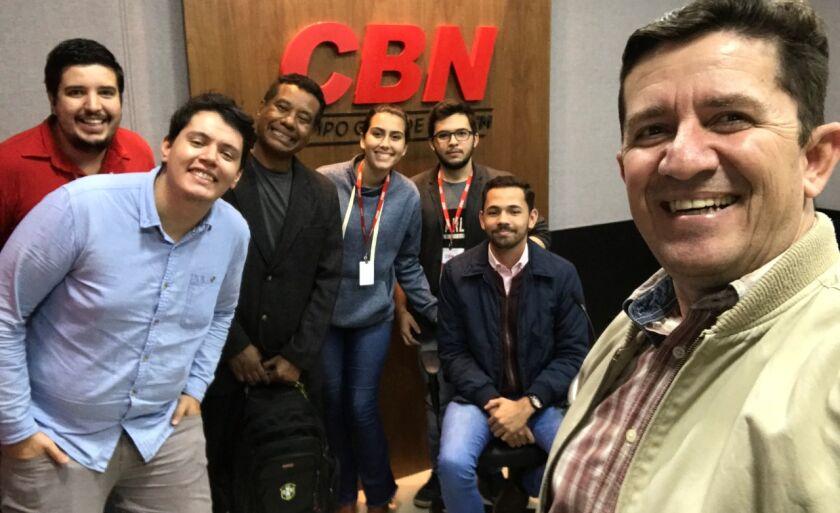 Equipe CBN se despede de Paulo Nonato
