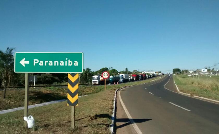 Paranaíba é uma das mais de 50 cidades em Mato Grosso do Sul que possuem o gás