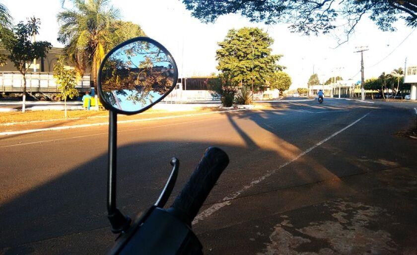 Motociclista fez vítimas em diversos bairros da cidade