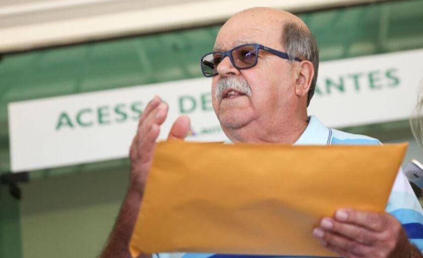 O presidente da associação, José da Fonseca Lopes, leva nova proposta de tabela de preços do frete à Agência Nacional de Transportes Terrestres
