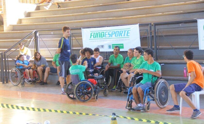 Mato Grosso do Sul levou 96 integrantes para as Paralimpíadas Escolares do ano passado