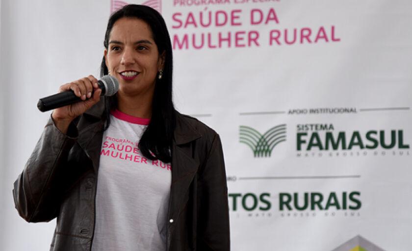 Pauline Curi, disse que este programa traz um cuidado especial a saúde desses trabalhadores