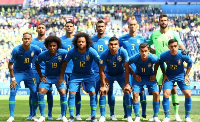 Brasil escalado para Sérvia e Miranda será capitão