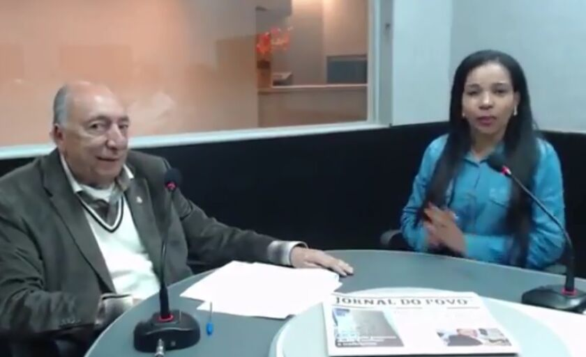 Pedro Chaves dá entrevista à jornalista Ana Cristina Santos