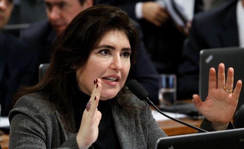 Senadora Simone Tebet reforça importância da segurança nas fronteiras