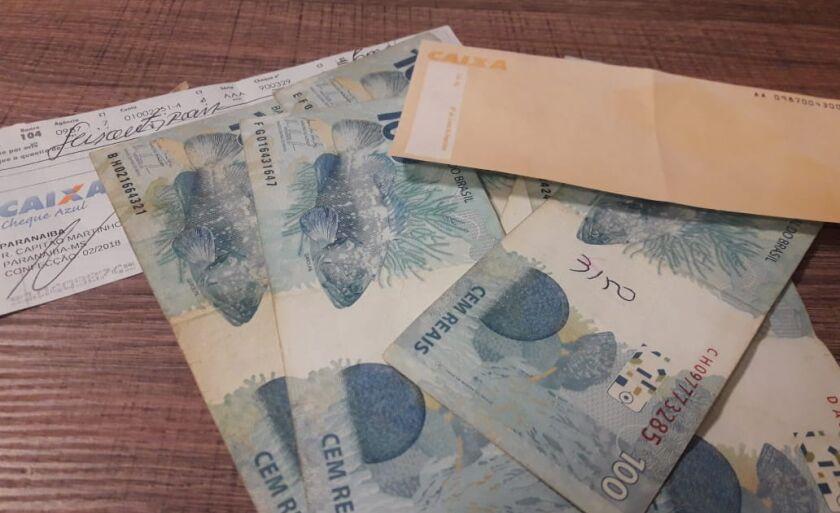 Continha na pasta R$2.240