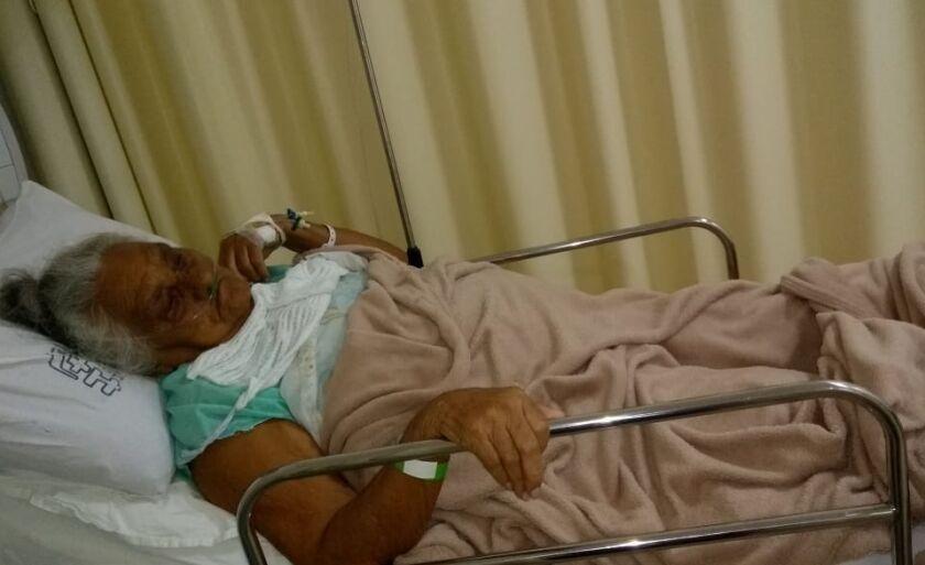 Ela deu entrada no hospital nesta quarta-feira (13) às 07h10