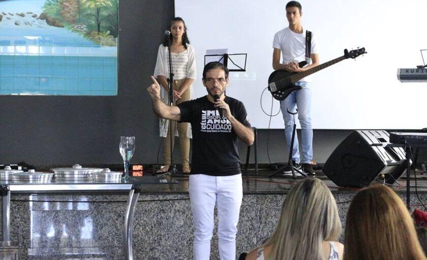 Diego é pastor da Primeira Igreja Batista de Paranaíba