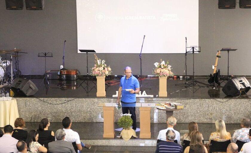 Josué está em Paranaíba (MS) desde quinta-feira (5) ministrando em um seminário
