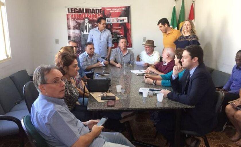 Líderes se reuniram em Campo Grande para explicar mudança