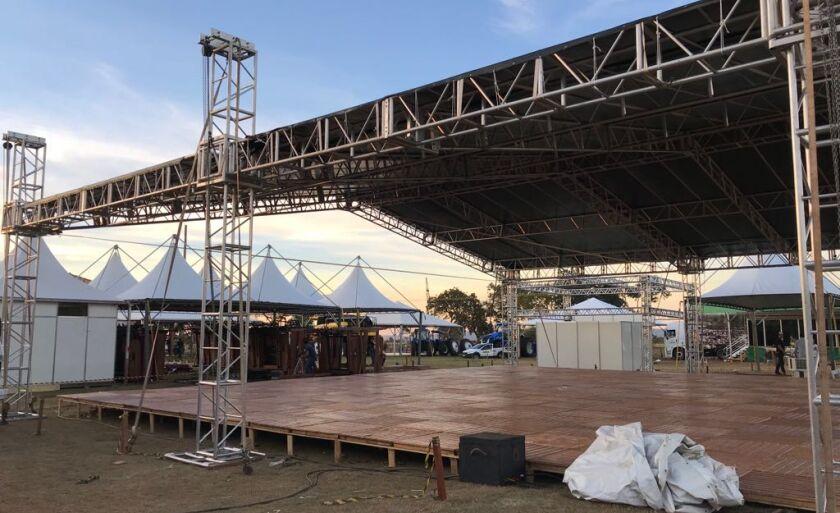 Espaço de realização da Campo Grande Expo tem mais de 34 hectares