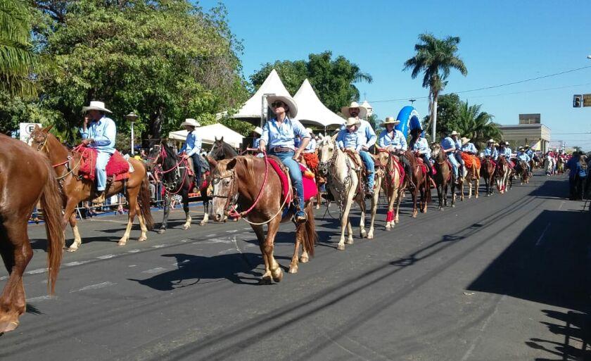 Neste ano a cavalgada contou com 420 participantes