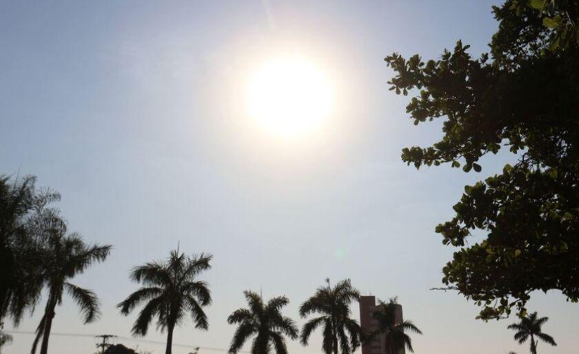 Semana inicia com temperaturas elevadas em municípios da região da Costa Leste