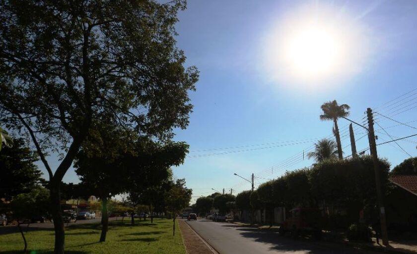 Predomínio de sol e calor em toda a região da Costa Leste de Mato Grosso do Sul