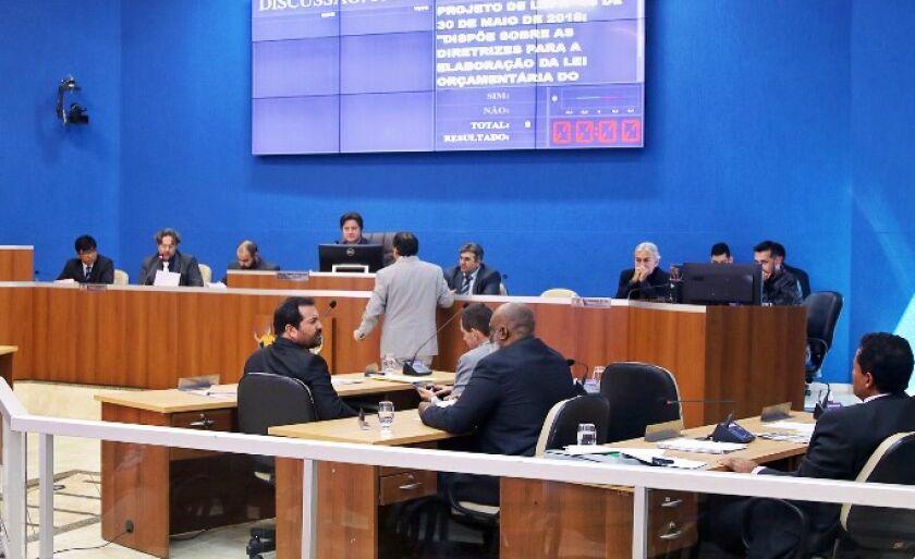 Câmara de Vereadores de Três Lagoas aprovou em primeira votação  a Lei de Diretrizes Orçamentária