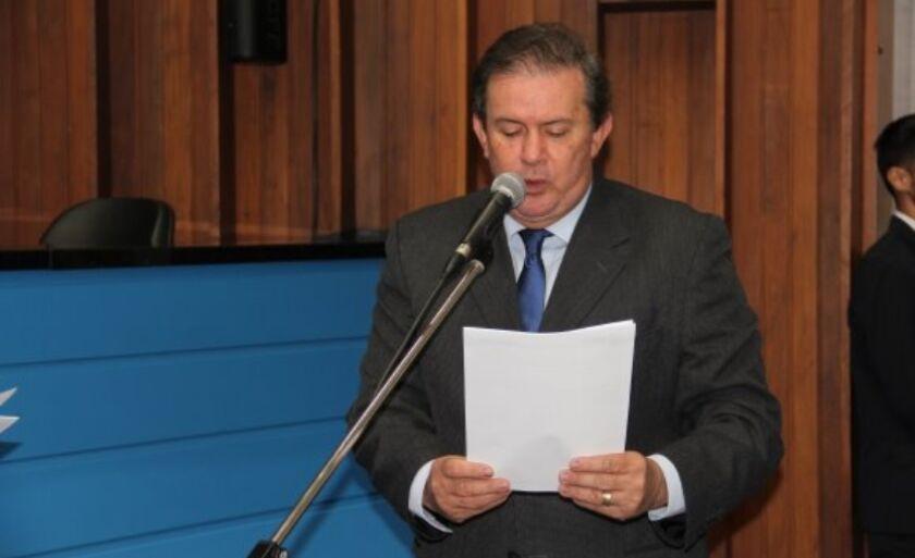 Deputado Eduardo Rocha (MDB) apresentou moção durante sessão na Assembleia nesta quarta-feira (11)