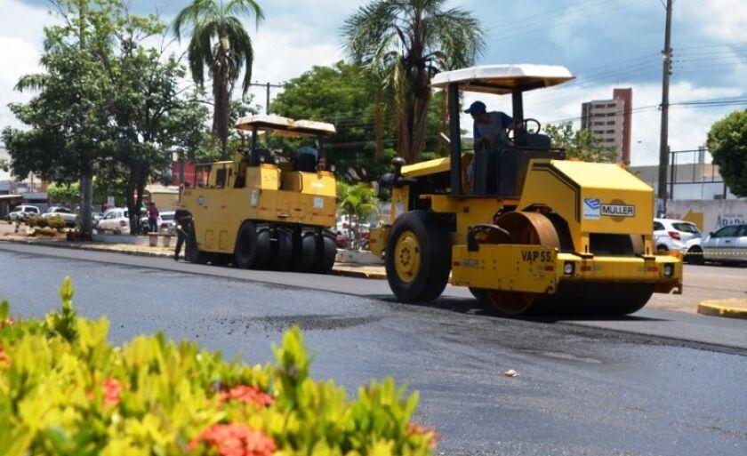 Em Três Lagoas, boa parte do valor será utilizada em obras de recapeamento