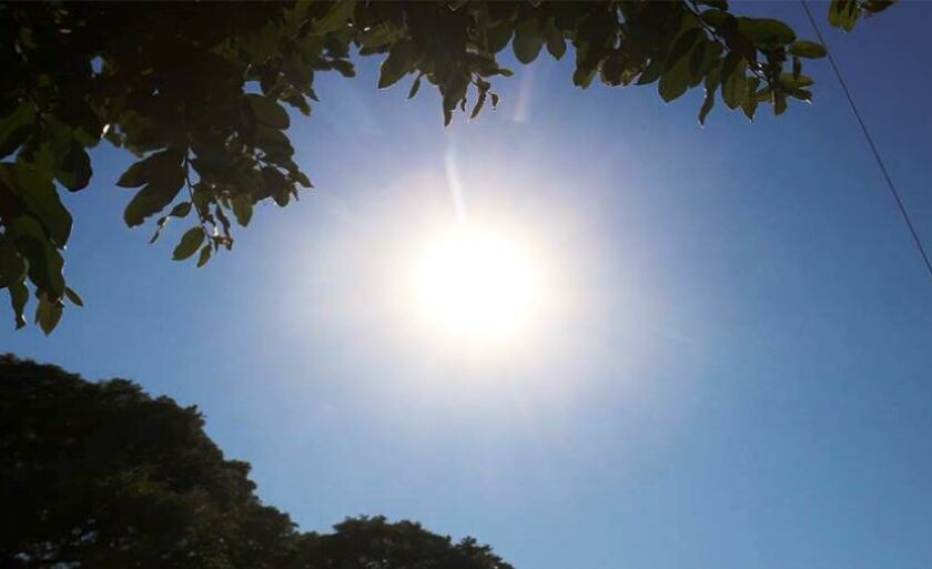 Terça-feira será quente e ensolarada em Três Lagoas