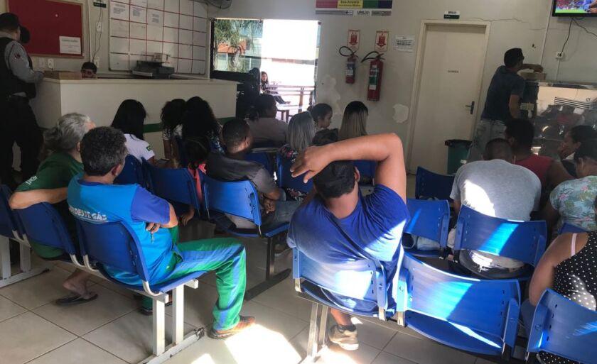 Pacientes superlotam a UPA diariamente com doenças em decorrência do tempo seco.