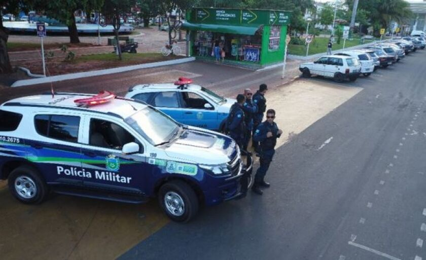 A prisão ocorreu na manhã de terça-feira (10) por volta das 10h15 na rua José Garcia Leal
