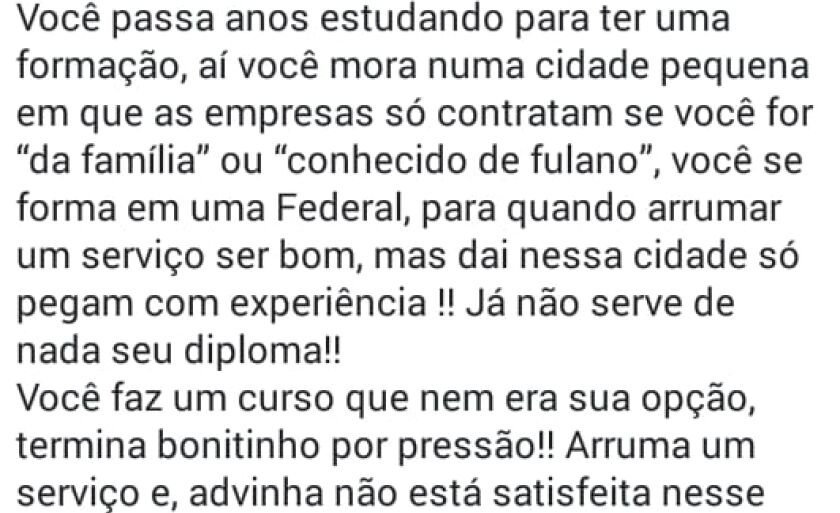De acordo com a Andifes metade dos universitários brasileiros vivenciou algum tipo de crise emocional no ano passado