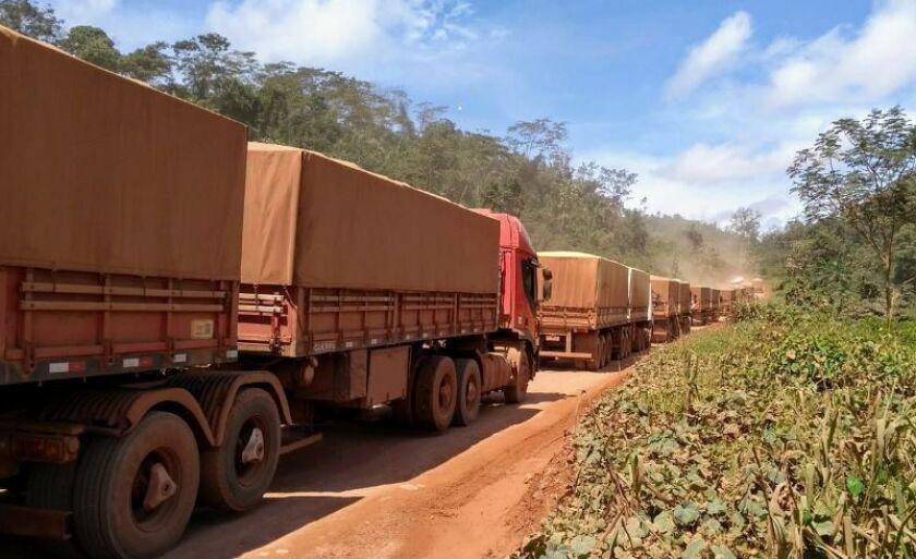 Gasto maior com transporte rodoviário, gerado pelo tabelamento, vai gerar custos ao consumidor