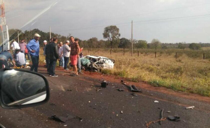 Mais um acidente de trânsito foi registrado na rodovia que liga Três Lagoas a Campo Grande