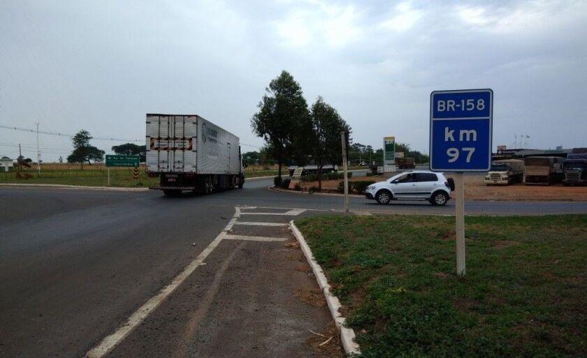 O homem foi abordado na rodovia BR-158 próximo ao Jardim Karina