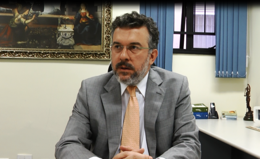 Juiz da 1ª Vara Criminal de Três Lagoas, Rodrigo Pedrini