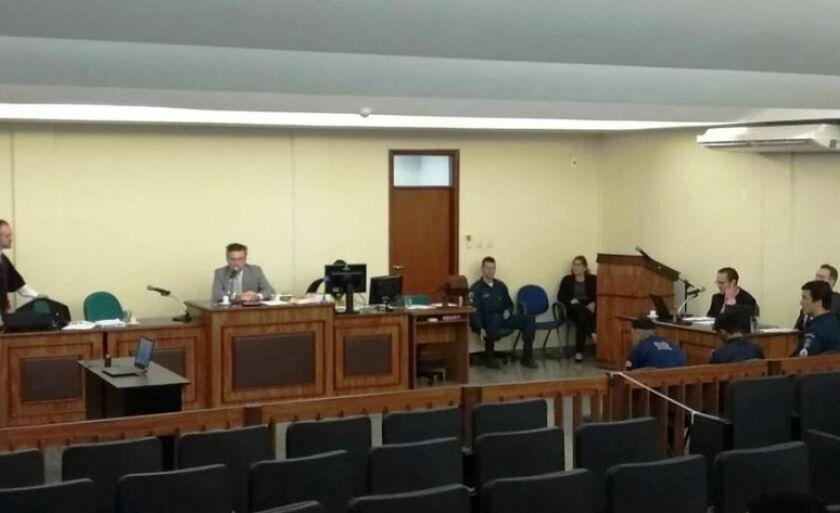 Acusados de matar funcionário dos Correios foram a júri nesta quarta-feira em Três Lagoas